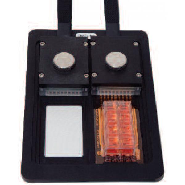 Držák destiček 2 x 8W na stolek mikroskopu